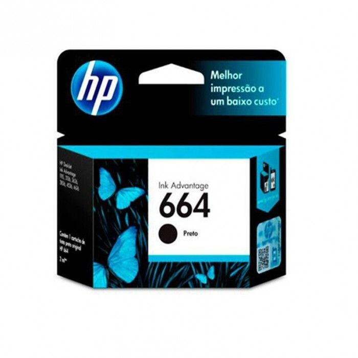 Cartucho HP 664 Black Original