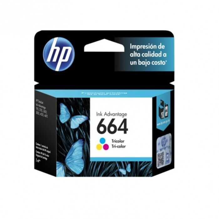 Cartucho HP 664 Tri-Color Original