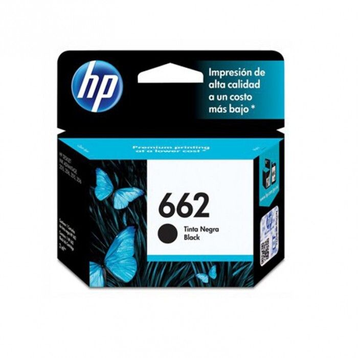 Cartucho HP 662 Black Original