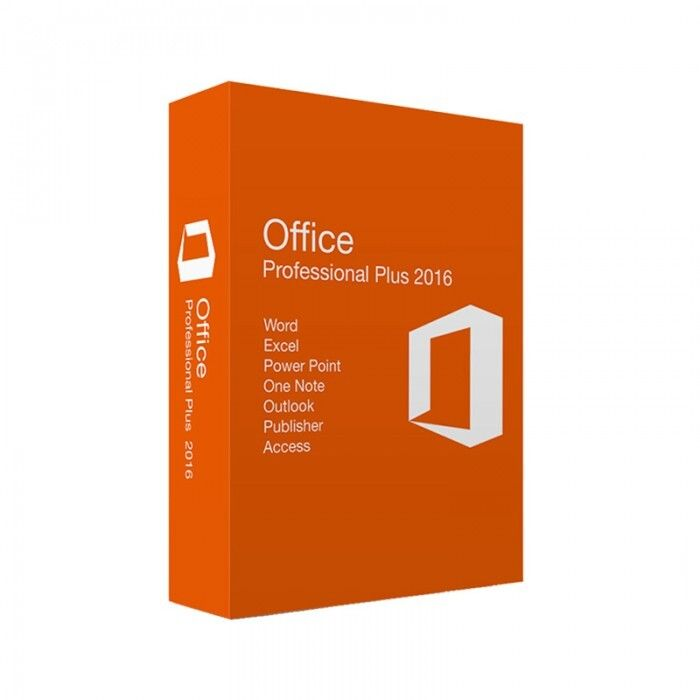 Licencia Microsoft Office Professional Plus 2016