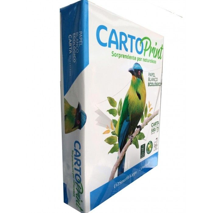 Resma de Papel Cartoprint Carta 75gr