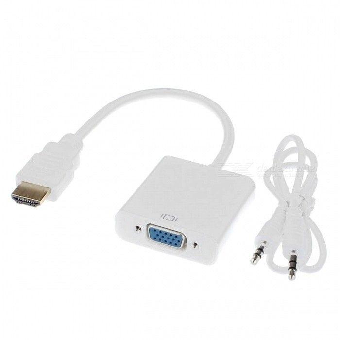 Convertidor de HDMI A VGA + Audio