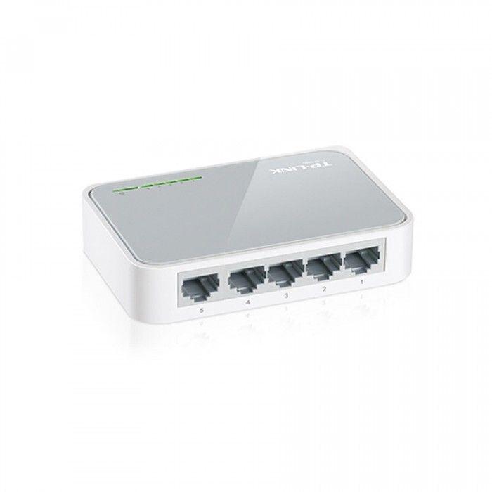 Switch TP Link TL-SF1005D (5 Puertos)