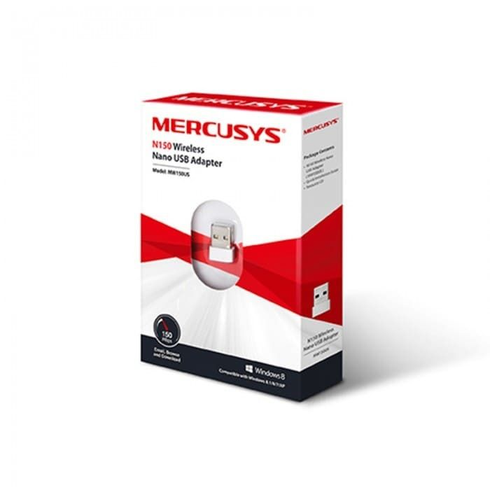 Adaptador Mercusys MW150US USB Nano